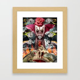 Carmencita Framed Art Print