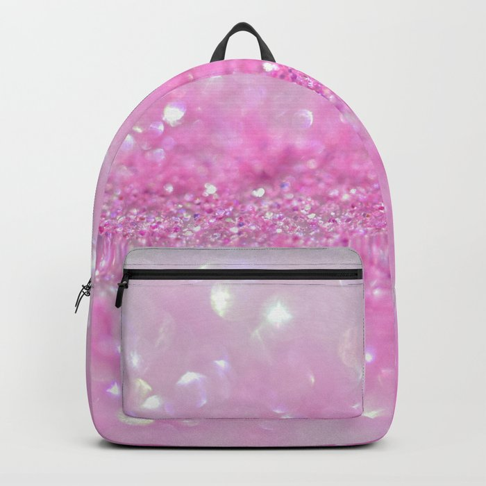 Sparkling Baby Girl Pink Glitter Effect - on #Society6 Backpack