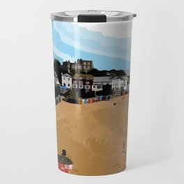 Broadstairs Beach Travel Mug