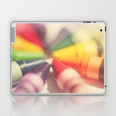 Crayon Love: Color Explosion Laptop & iPad Skin