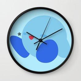 Kirby(Smash)Blue Wall Clock