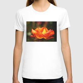 Red Rose Glowing T-shirt