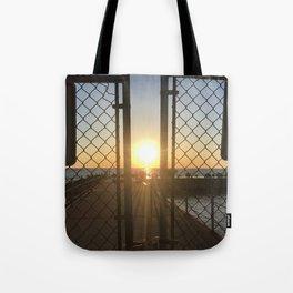 Gated Sunrise 2 Tote Bag