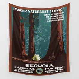 Sequoia National Park Wall Tapestry