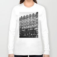 building Long Sleeve T-shirts featuring Building by Tristan Tait