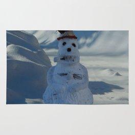 Funny Snowman Rug