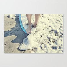 toes on the nose  Canvas Print
