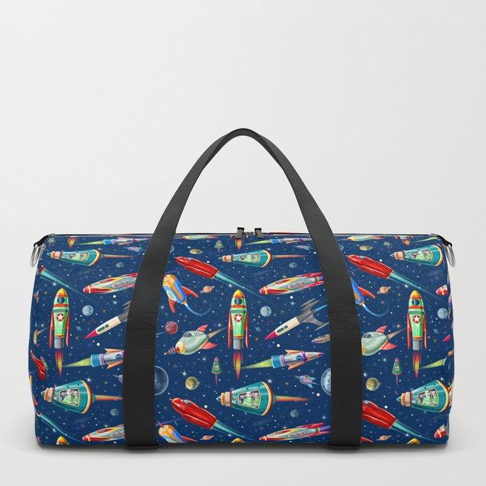 rockets in traffic Duffle Bag