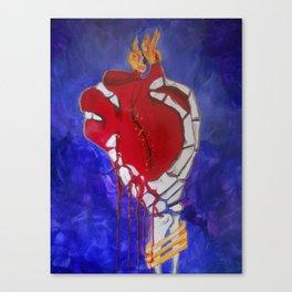 LOve prevails Canvas Print