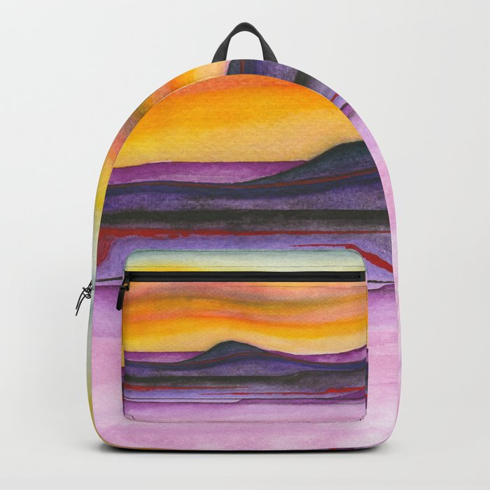 Abstract nature 06 Backpack