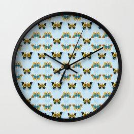 Bird skull pattern Wall Clock