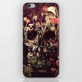 Bloom Skull iPhone Skin