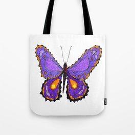Sahasrara Butterfly 1 Tote Bag