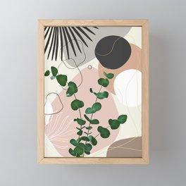 Eucalyptus Fan Palm Finesse #1 #tropical #decor #art #society6 Framed Mini Art Print