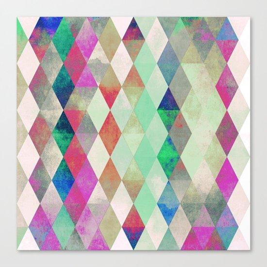 Pattern R20 Canvas Print