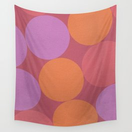 Sunset Shadows Moon Wall Tapestry