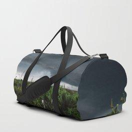 Stormflower - Sunflower and Storm in Texas Duffle Bag