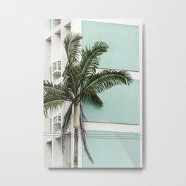 color block tree Metal Print