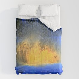 Fire on Water Comforters