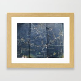 Up to Code Framed Art Print