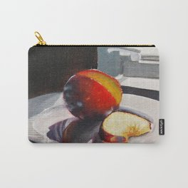 Plum in a Sunny Window Carry-All Pouch