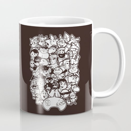 Mega 16 Bit Mug