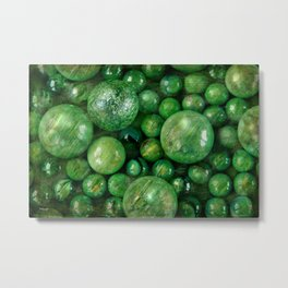 Greenballs Metal Print