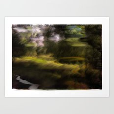 Landscape Doesn't Exist Art Print