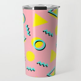 Memphis pattern 60 Travel Mug