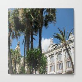Monte-Carlo Shines Metal Print