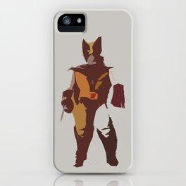 Logan Brown & Tan iPhone Case