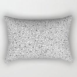 Neverending Doodle Rectangular Pillow