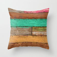 Country Pop Throw Pillow