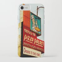 pizza iPhone & iPod Cases featuring Pizza by Hazel Bellhop