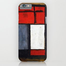 Joaquin Torres Garcia Abstract Forms iPhone Case