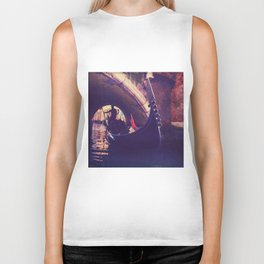 """Venice is like eating an entire box of chocolate liqueurs in one go.""  ― Truman Capote Biker Tank"