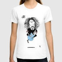 dave grohl T-shirts featuring Dave Grohl  by L O L A S O Y