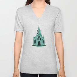Union Church Unisex V-Neck