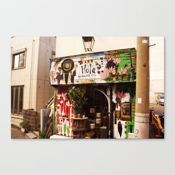 Hola Tacos Cafe Tokyo Leinwanddruck