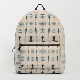 Light Indigo Shibori Backpack
