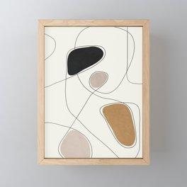 Thin Flow I Framed Mini Art Print