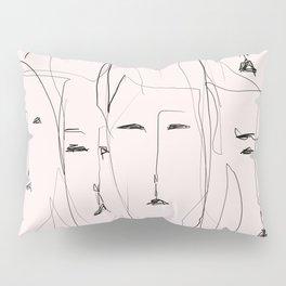 Resting faces Pillow Sham