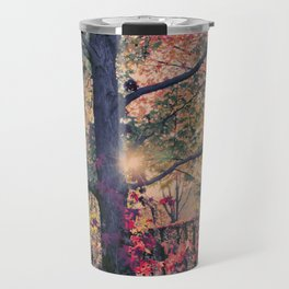 Lightful Autumn Tree Travel Mug