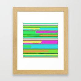 Side streets 2 Framed Art Print