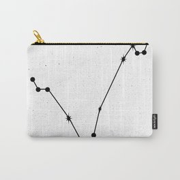 PISCES (WHITE & BLACK) Carry-All Pouch