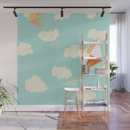 Let's go Fly a Kite Wall Mural