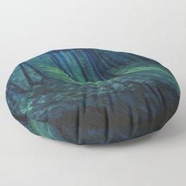 Lovely, Dark, and Deep Floor Pillow