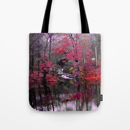 pink waterfall dreams  Tote Bag