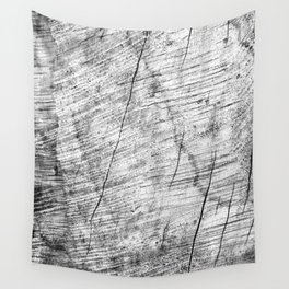 Cracks in timber Textures 3 Wall Tapestry