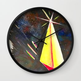 Galaxy Pyramid Wall Clock